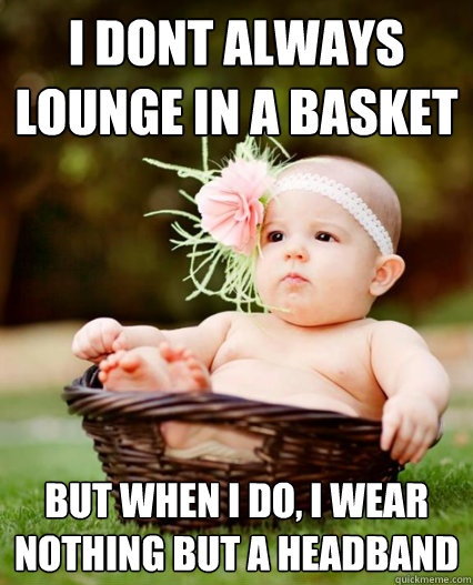 Lounge in a Basket