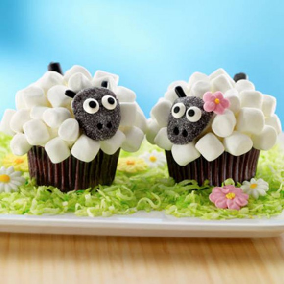 Cute diy easter treats cuteness overflow for Cute cupcake decorating ideas for easter