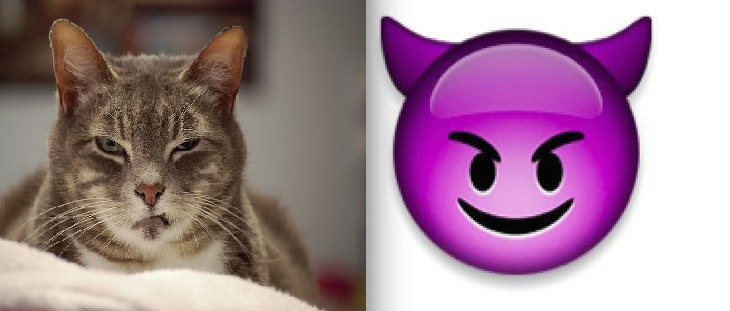 evil emoji
