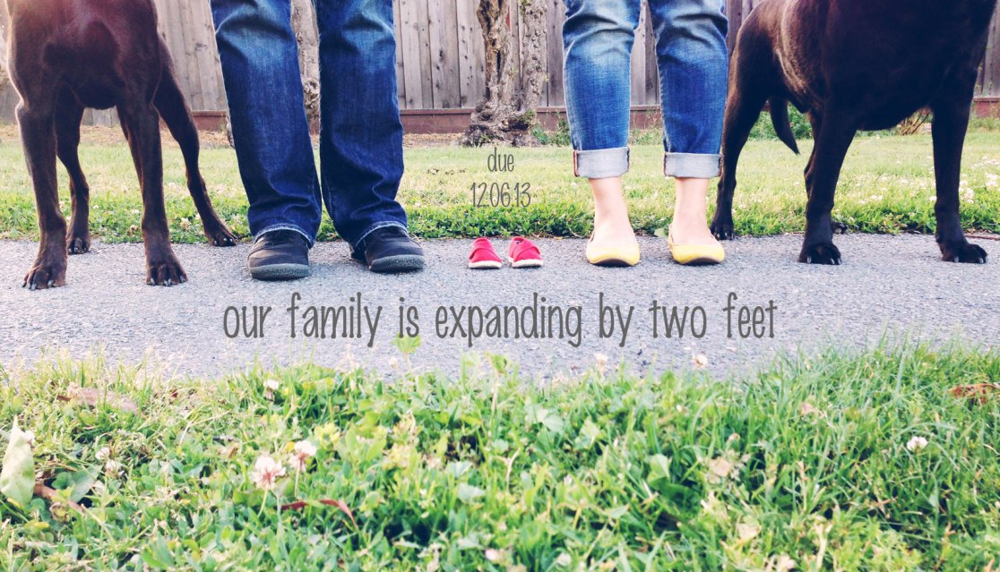family expanding by two feet