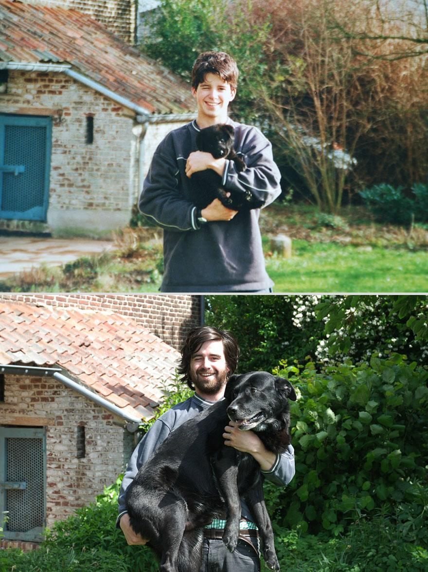 10 years apart dog